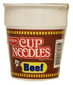 bc3128 Nissin Cup Noodle Beef 60 gr