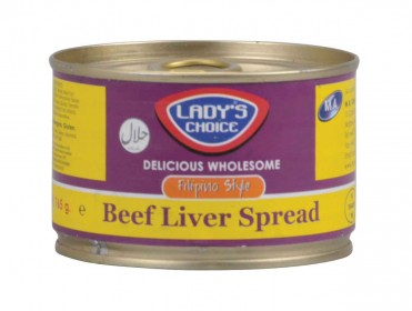 bc5477 Lady's Choice Beef Liver Spread 165 gr